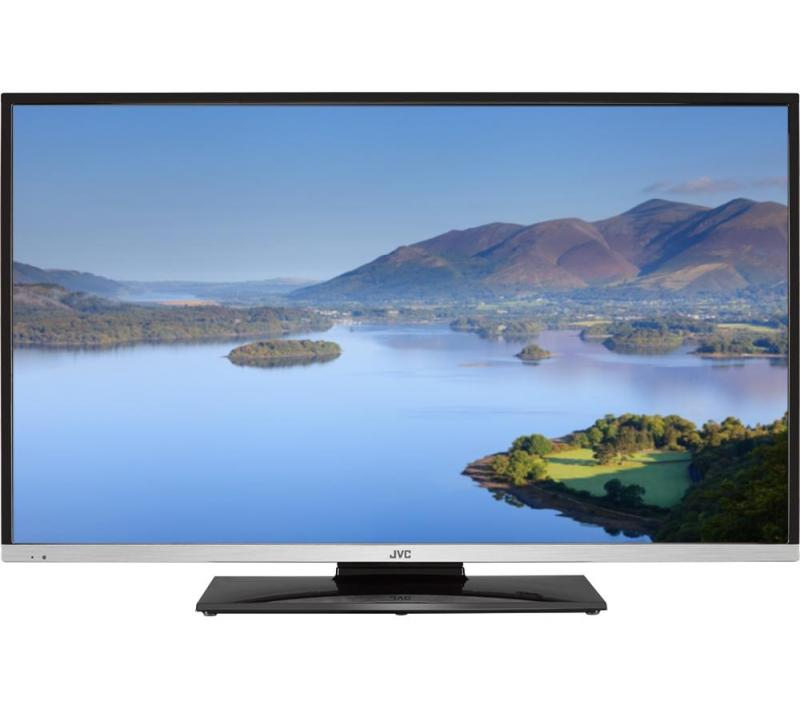 40 JVC LT40C755 Full HD 1080p Freeview HD Smart DVD LED TV