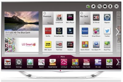 42 LG 42LA740 Full HD 1080p Freeview HD Smart 3D LED TV