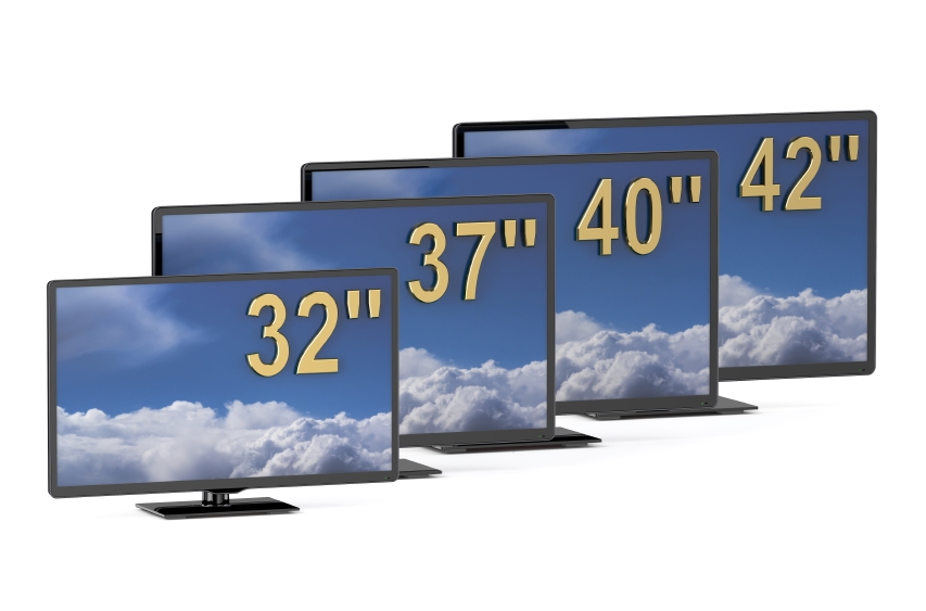 TV sets in a range of sizes available at Electronic World