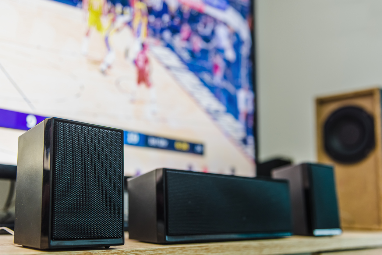 TV sound system