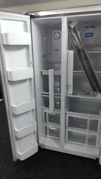Daewoo DRS30SMI American Style Fridge Freezer - Silver