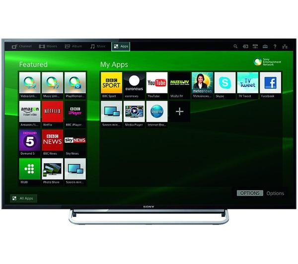 "48"" Sony KDL48W605 Full HD 1080p Freeview HD Smart LED TV"