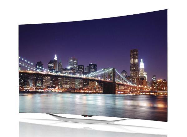 55 LG 55EC930V Curved OLED Full HD 1080p Freeview HD Smart 3D TV