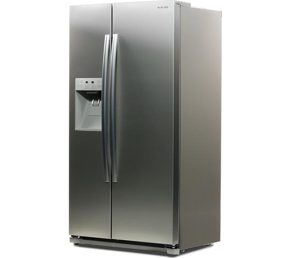 DAEWOO DRQ29NPES American Fridge Freezer - Silver