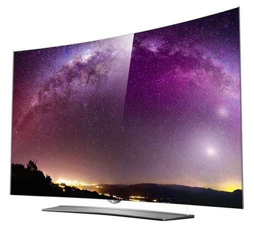 "65"" LG 65EF950V OLED 4K Ultra HD Freeview HD Smart 3D TV"