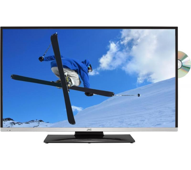 32 JVC LT-32C655 HD Ready Freeview HD Smart LED TV With Built in DVD