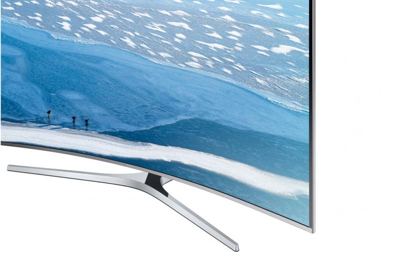 55 Samsung UE55KU6670 Curved Ultra HD HDR 4K Freeview HD Smart LED TV