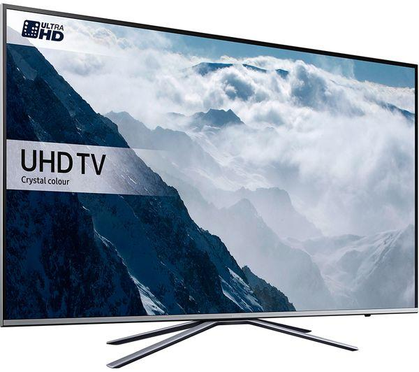 43 Samsung UE43KU6400 4k Ultra HD HDR Freeview Freesat HD Smart LED TV