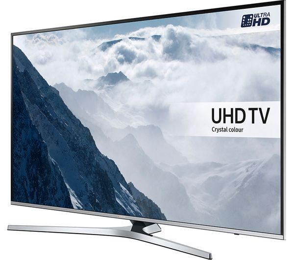 40 Samsung UE40KU6470 4k Ultra HD HDR Freeview Freesat HD Smart LED TV