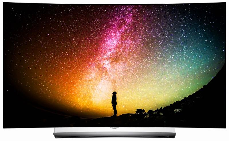 65 LG OLED65C6V Curved 4K OLED Ultra HD HDR Freeview HD Smart 3D TV