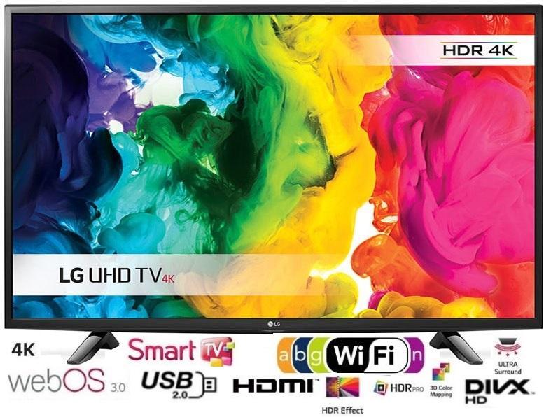 43 LG 43UH603V 4K Ultra HD Freeview HD Smart HDR LED TV