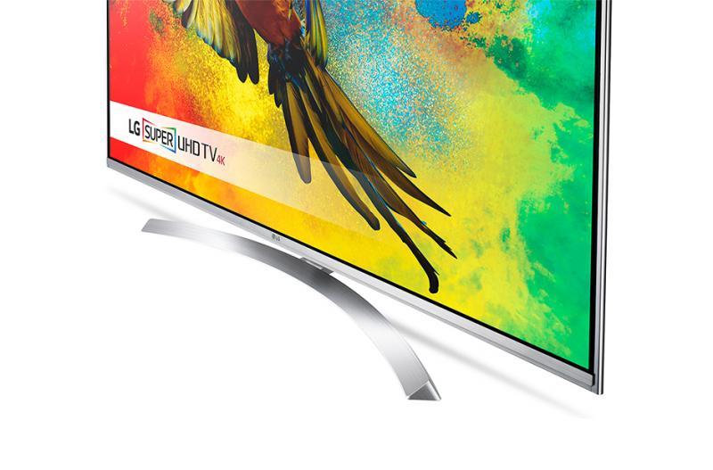 "60"" LG 60UH850V 4k Ultra HD Freeview HD HDR Smart 3D LED TV"
