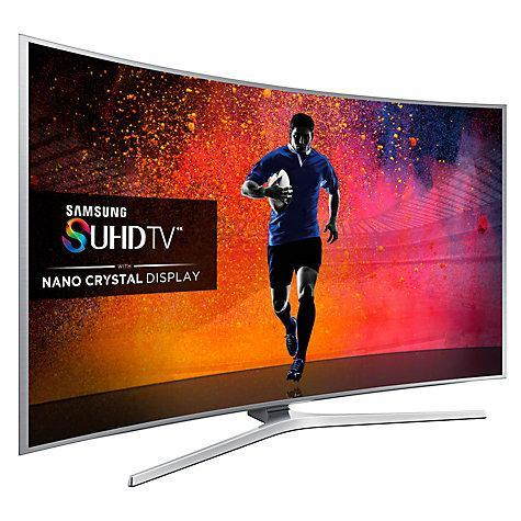 48 Samsung UE48JS9000 Curved 4K SUHD Freeview HD Freesat HD Smart 3D LED TV