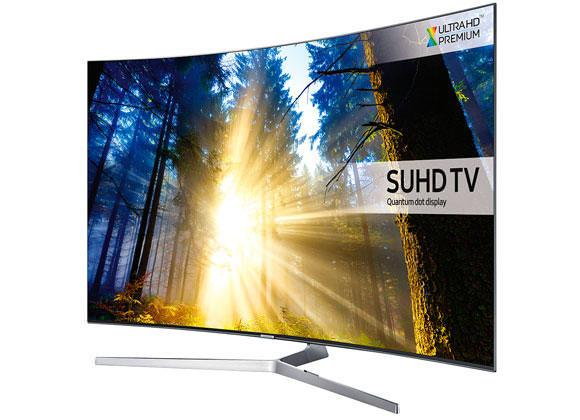 "49"" Samsung UE49KS9000 4K SUHD Freeview Freesat HD Smart Curved LED HDR TV"