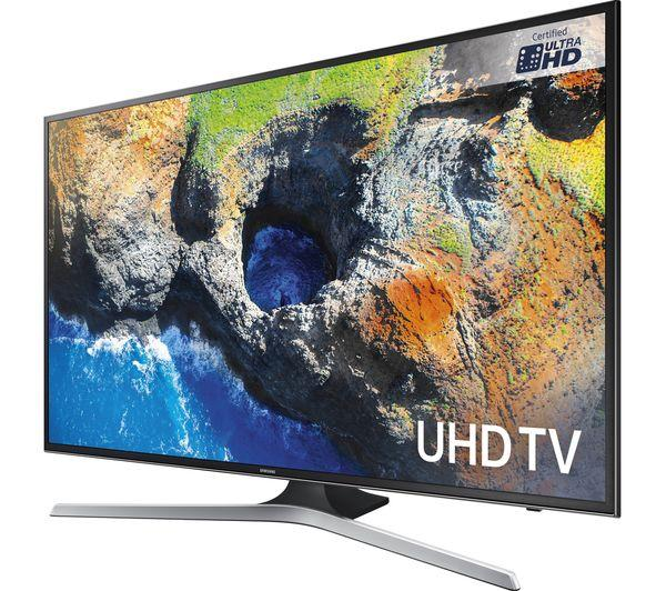 "50"" Samsung UE50MU6100 4K Ultra HD HDR Freeview HD Smart LED TV"