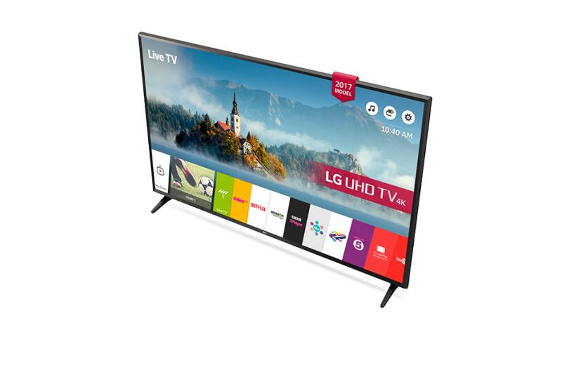43 LG 43UJ630 4K Ultra HD Freeview Freesat HD HDR Smart LED TV