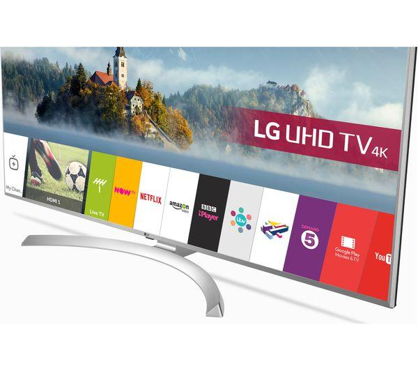 55 LG 55UJ701V 4K Ultra HD Freeview Freesat HD HDR Smart LED TV