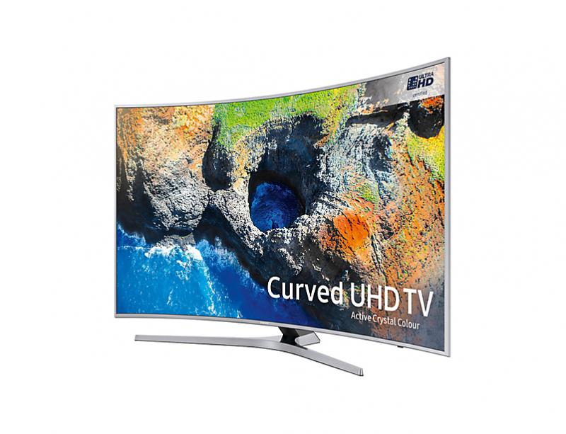"49"" Samsung UE49MU6500 Curved Ultra HD HDR 4K Freeview HD Smart LED TV"
