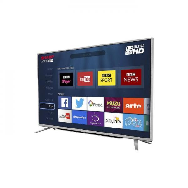 55 SHARP LC-55CUG8462KS 4K Ultra HD Freeview HD Smart LED TV