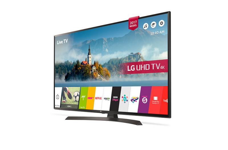 "55"" LG 55UJ634V 4K Ultra HD Freeview HD Smart HDR LED TV"