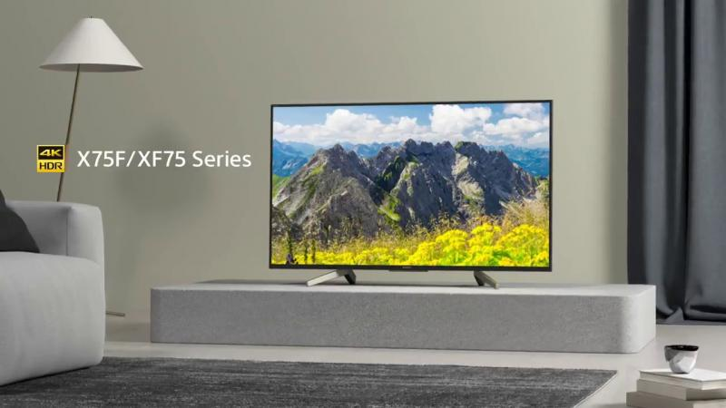 """43"""" Sony KD43XF7596BU 4K Ultra HD HDR Android Smart LED TV"""
