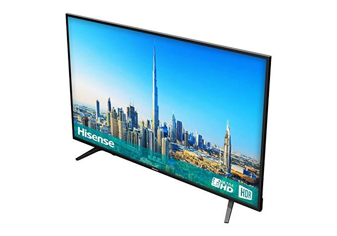 "50"" Hisense 50AE6100 4K Ultra HD HDR Freeview HD Smart LED TV"