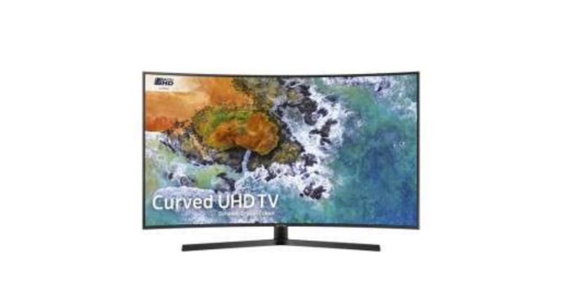"""55"""" Samsung UE55NU7500 4K Certified Ultra HD HDR Curved Smart LED TV"""