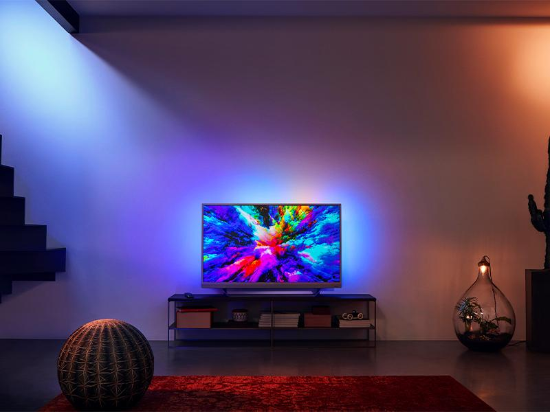 "49"" Philips 49PUS7503 Ambilight 4K HDR Android Smart LED TV"