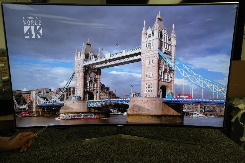 """49"""" Samsung UE49KS9000 4K HDR Super UHD Smart Curved LED TV"""