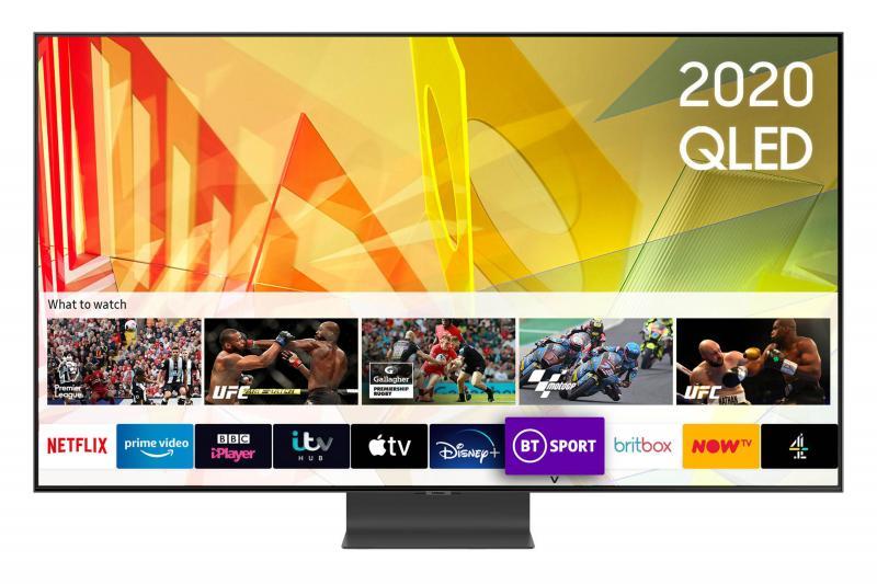"""85"""" Samsung QE85Q95TATXXU Premium Certified 4K UHD HDR QLED TV"""