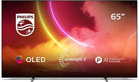 """65"""" Philips 65OLED805/12 Ambilight 4K HDR Android Smart OLED TV"""