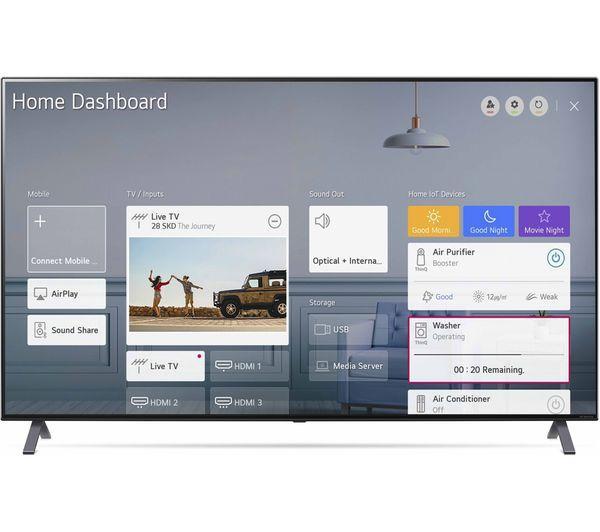 """55"""" LG 55NANO956NA Flagship 8K HDR Nano Cell Smart LED TV"""