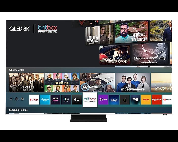 """75"""" Samsung QE75Q900TSTXXU Flagship 8K HDR QLED TV"""