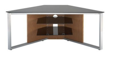 Alphason Corner TV Stand with Floating Shelves