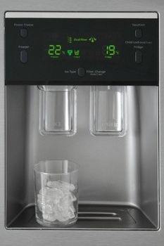 samsung rsa1utmg american style fridge freezer with water. Black Bedroom Furniture Sets. Home Design Ideas