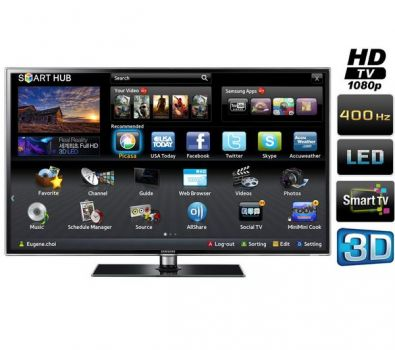46 samsung ue46d6530 full hd 1080p digital freeview hd smart 3d led tv. Black Bedroom Furniture Sets. Home Design Ideas