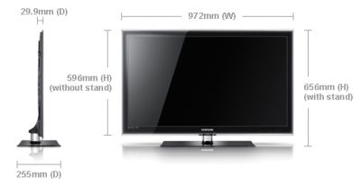 40 samsung ue40c5100 full hd 1080p digital freeview led tv. Black Bedroom Furniture Sets. Home Design Ideas