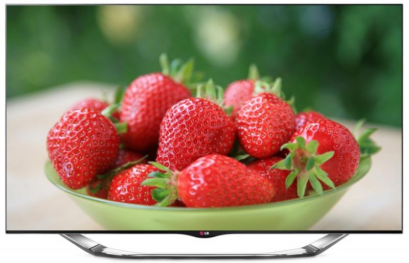 55 LG 55LA860 Full HD 1080p Freeview HD Smart 3D LED TV