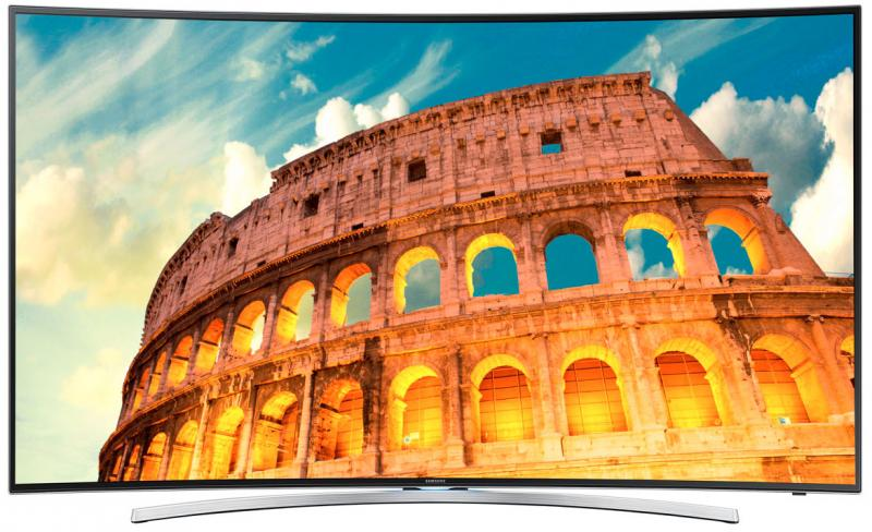 55 Samsung UE55H8000 Curved Full HD 1080p Freeview Freesat HD Smart 3D LED TV