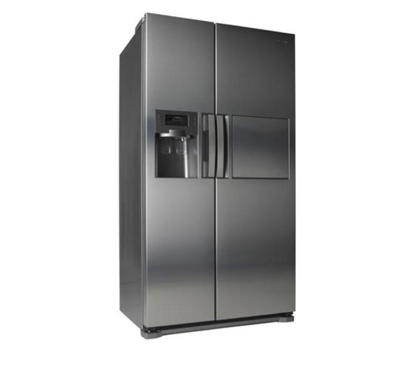 Which Best American Fridge Freezer Part - 48: Samsung RSH7ZNRS American-Style Fridge Freezer With Water And Ice Dispenser  - Stainless Steel