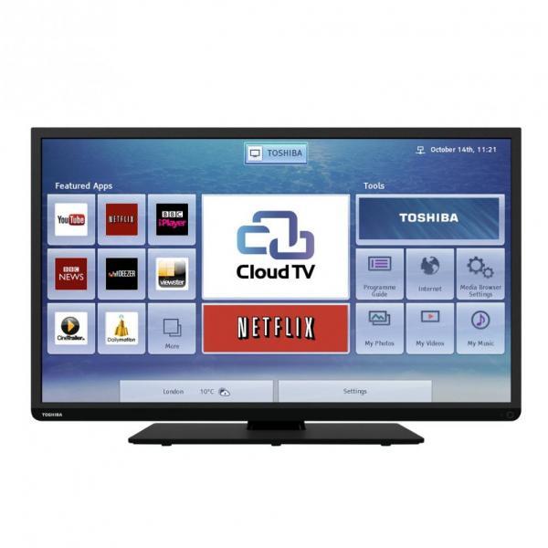 40 toshiba 40l3451db full hd 1080p freeview hd smart led tv