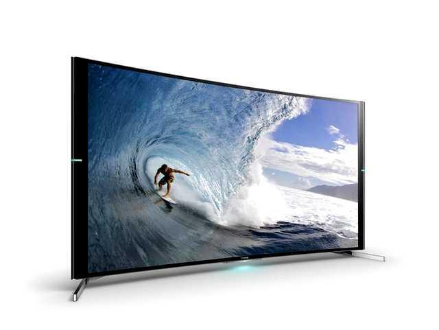 65 Sony Kd65s9005bbu Curved 4k Ultra Hd Freeview Hd Smart