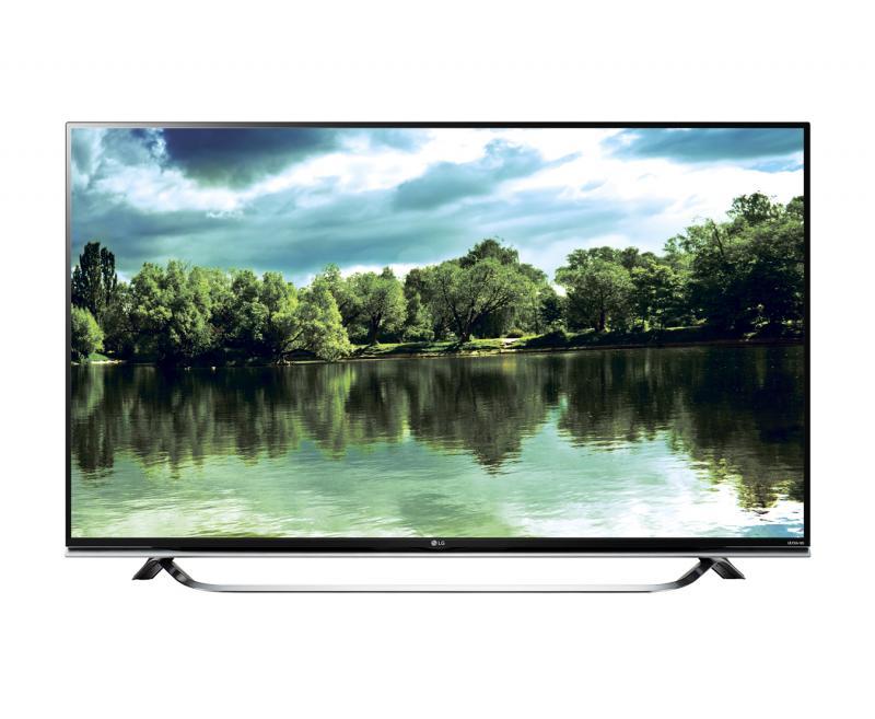 """55"""" LG 55UF850V 4k Ultra HD Freeview HD Smart 3D LED TV"""