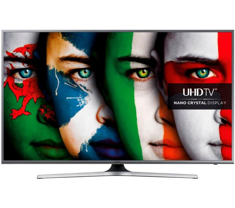 "60"" Samsung UE60JU6800 Ultra HD 4K Freeview HD Smart LED TV"