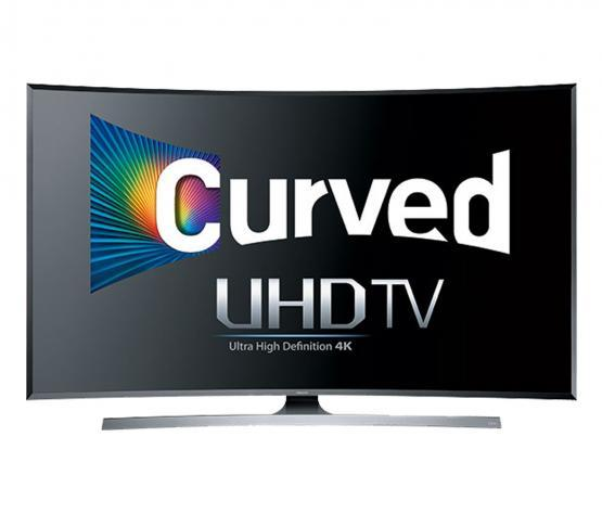 "55"" Samsung UE55JU7500 Curved Ultra HD 4K Freeview HD Smart 3D LED TV"