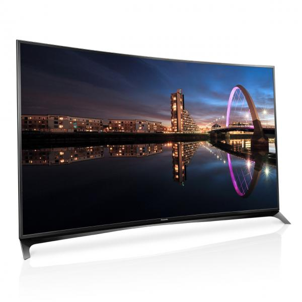 "65"" Panasonic TX65CR852B Curved Ultra HD 4K Freeview HD Smart 3D LED TV"