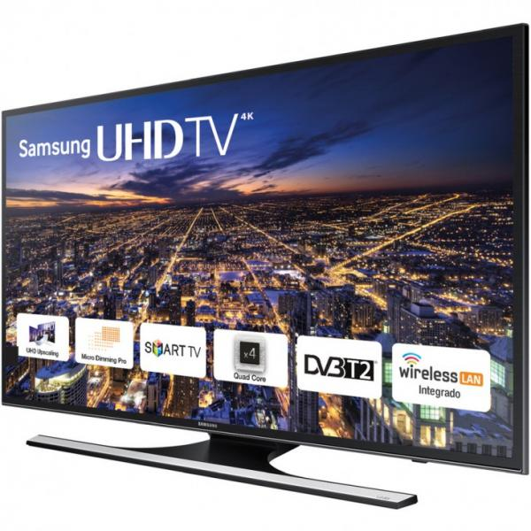 "40"" Samsung UE40JU6400 4k Ultra HD Freeview HD Smart LED TV"