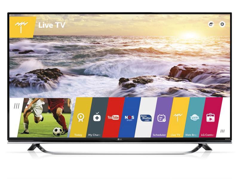 """49"""" LG 49UF850V 4k Ultra HD Freeview HD Smart 3D LED TV"""