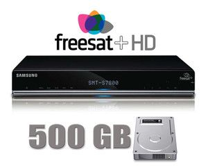 Wonderbaar SAMSUNG SMT-S7800 500GB Freesat HD TV Recorder LB-72