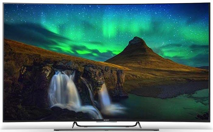 "55"" Sony KD55S8505CBU Curved 4k Ultra HD Android Smart 3D LED TV"